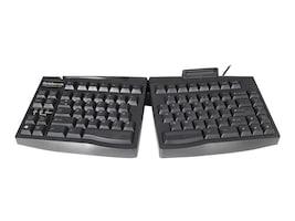 Ergoguys SC 2.0 GoldTouch Ergonomic Smart Card Keyboard - Black, GTS-0077, 7679520, Keyboards & Keypads