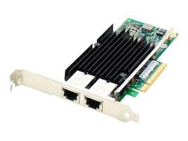 AddOn 2-Port 10GBase-T RJ-45 100m PCIe x8 NIC (HP 716591-B21), 716591-B21-AO, 35770232, Network Adapters & NICs