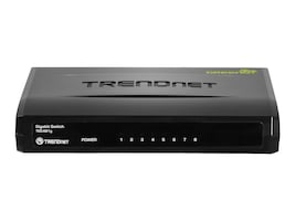 TRENDnet GREENnet 8 Port Gigabit Switch, TEG-S81g, 15572010, Network Switches