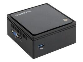 Gigabyte Tech Barebones, Desktop GB-BXBT-2807 Brix Mini Celeron N2807 1.58GHz Max.8GB DDR3 1x2.5 SATA GbE NoOS, GB-BXBT-2807, 17537621, Barebones Systems