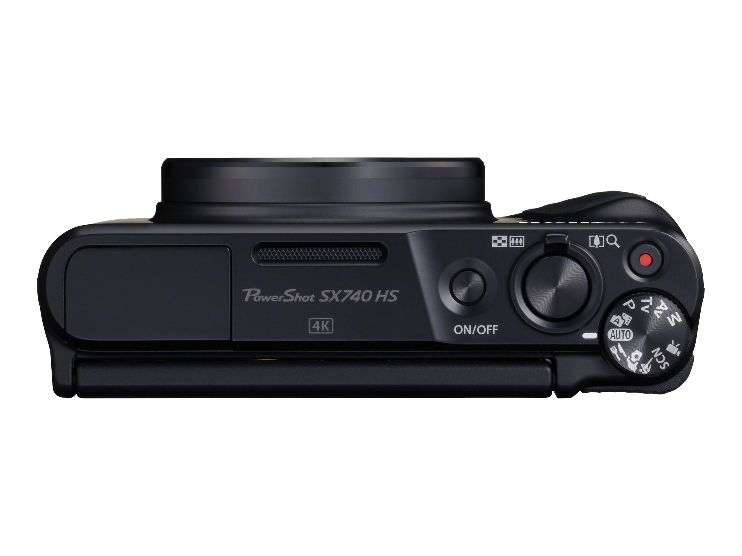 Canon Powershot Sx740 Hs Digital Camera Black 2955c001