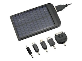 4Xem 4xSolarCharger Solar Charger for iPhone iPad iPod MP3 MP4, 4XSOLARCHAGER, 31190978, Battery Chargers