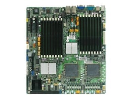 Tyan Motherboard, 5000P, Dual Xeon DC, EATX, Max 64GB DDR2, 2PCIEX8, GBE, Vid, SATA, RAID, S5383G2NR, 7600519, Motherboards