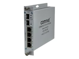 Comnet 6PORT SELF-MANAGED SWITCH POE  PERP2PORTS 60W 2PORTS 30W POE, CNGE2FE4SMSPOEHO, 36127046, Network Switches