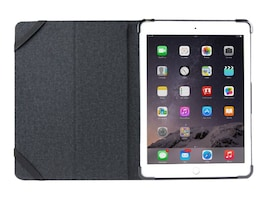 Cyber Acoustics Premium Leather Folio for iPad Air Air 2 Pro 9.7, Black, MR-IC5701, 33200789, Carrying Cases - Tablets & eReaders