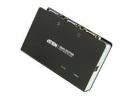 Aten 2-Port VGA Video Splitter Extender, VS82, 7790228, Video Extenders & Splitters