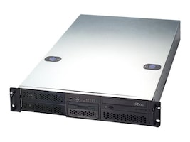 Chenbro Chassis, 2U RM, EEB Dual CPU, 4x5.25, 2x3.5, 650W PS, Black, RM21600-460, 13649909, Cases - Systems/Servers