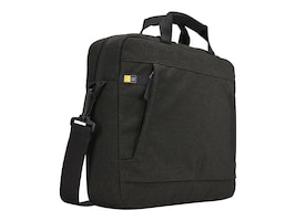 Case Logic Huxton 14 Laptop Attache, Black, HUXA114BLACK, 30639948, Carrying Cases - Notebook