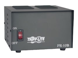 Tripp Lite 10-Amp DC Power Supply 120VAC Input to 13.8VDC Output, PR10, 5446802, AC Power Adapters (external)