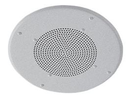 Valcom 8 Ceiling Speaker w  25-70 V Xfmr., Volume Control & Metal Baffle, S-500VC, 16451324, Speakers - Audio