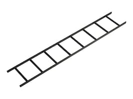 "Black Box Ladder Rack, 6' x 12"" (1.8 m x 30.5 cm), Black, RM650, 5142104, Rack Mount Accessories"
