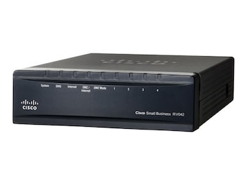 Cisco 4-Port FE VPN Router, RV042, 5186537, Network Routers