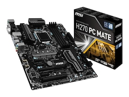 Microstar Motherboard, H270 PC Mate, H270 PC MATE, 33561517, Motherboards