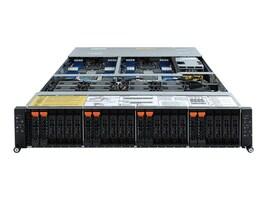 Gigabyte Tech Barebones, H262-Z63 Rev. 100 2U RM (2x)CPU slots 16xDIMMs 2x2.5 HS bays 2xGbE 2x2200W NoOS, H262-Z63, 37598878, Barebones Systems