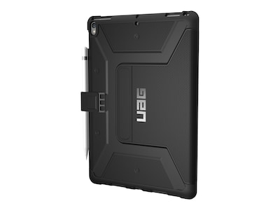 Urban Armor Metropolis Case for iPad Pro 10.5, Black Silver, IPDP10.5-E-BK, 34133506, Carrying Cases - Tablets & eReaders