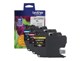 Brother Color High Yield Ink Cartridges for MFC-J491DW, MFC-J497DW, MFC-J690DW & MFC-J895DW (3-pack), LC30133PKS, 35675083, Ink Cartridges & Ink Refill Kits - OEM