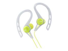 JVC SportsSeries Fitness Headphones - Green, HAECX20G, 35633756, Headphones
