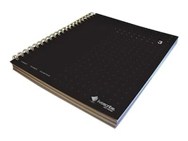 3-Subject Notebook, Black, ANA-00026, 26136045, Office Supplies