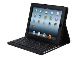 Adesso Campagno3 Keyboard with Case for iPad2 3, Black, WKB-1000DB, 13822732, Keyboards & Keypads