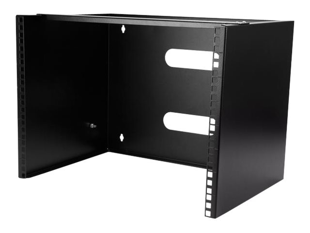 Startech Com 8u Wall Mount Bracket For 12in Shallow Rack Equipment