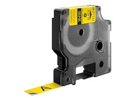 DYMO RhinoPRO Flexible Nylon Tape Yellow 1 2 x 11.5', 18490, 4814888, Paper, Labels & Other Print Media