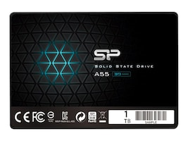 Silicon Power TLC Solid State Drive, SP001TBSS3A55S25, 37251381, Solid State Drives - Internal