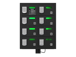 ChargeTech CHARGETECH 8 BAY CELL PHONE CHARGING LOCKER STORES VALUABLES INCL.PHON, CT-300032, 37259307, Power Strips