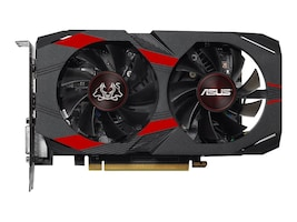 Asus GeForce GTX 1050 Ti Graphics Card, 4GB GDDR5, 90YV0A74-M0NA00, 35095441, Graphics/Video Accelerators