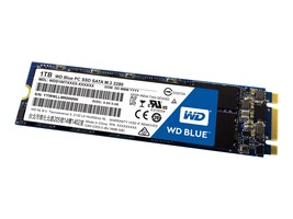 WD 1TB WD Blue SATA 6Gb s M.2 2280 Internal Solid State Drive, WDS100T1B0B, 33016674, Solid State Drives - Internal