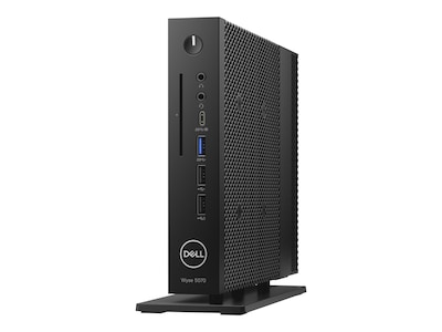 Wyse 5070 Slim Thin Client Celeron QC J4105 1.5GHz 4GB 16GB Flash UHD600 GbE 65W ThinOS, 8GNPM, 38106231, Thin Client Hardware