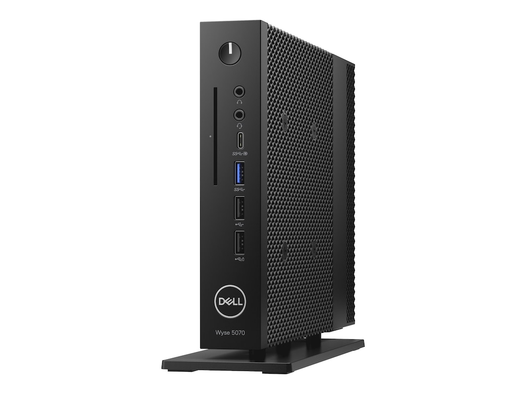DELL WYSE 5070 - THIN CLIENT - DTS - 1 X CELERON J4105 / 1.5 GHZ - RAM 8 GB - SSD 64 GB - UHD GRAPHICS 600 - GIGE - WIN 10 IOT ENTERPRISE 2016 LTSB RS1 - MONITOR: NONE - BTS - WITH 3 YEARS RETURN FOR REPAIR/CUSTOMER PAYS FREIGHT