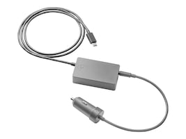 HP 45W USB-C Auto Adapter, Z3Q87UT, 33526949, Automobile/Airline Power Adapters