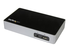 StarTech.com USB3VDOCK4DP Main Image from Right-angle