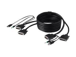Linksys Dual DVI USB Audio KVM Cable Kit - bulk packaging, F1D9014B06, 13035350, Cables