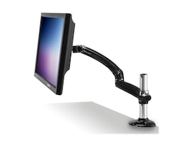 Ergotech Freedom Arm Single Monitor Mount for PC, Gray, FDM-PC-G01, 15389303, Stands & Mounts - AV