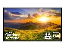WEATHERPROOF 65-INCH OUTDOOR 4K HDR TELEVISION - SUNBRITETV SIGNATURE, SB-S2-65-4K-BL, 37425395, Televisions - Consumer