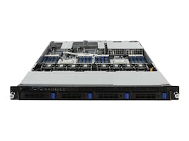 Gigabyte Tech Dual AMD 1U Epyc Server 4xBays, R181-Z90, 35519726, Servers