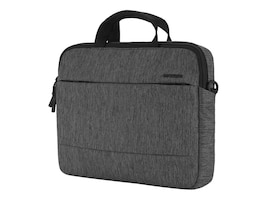 Incipio Incase City Brief Bag for 13 MacBook Pro, Heather Black Gunmetal Gray, CL60589, 32636046, Carrying Cases - Notebook