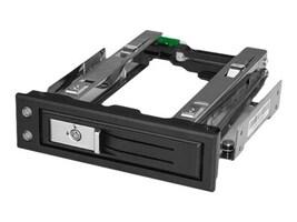 StarTech.com 5.25 to 3.5 Hard Drive Hot Swap Bay for 3.5 SATA SAS Drives - Trayless, HSB13SATSASB, 34494184, Drive Mounting Hardware