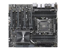 Asus Motherboard, X99-E WS USB 3.1 Socket 2011 v3 Core i7 Family Max.128GB DDR4 8xSATA 7xPCIe 2xGbE, X99-E WS/USB 3.1, 21814118, Motherboards