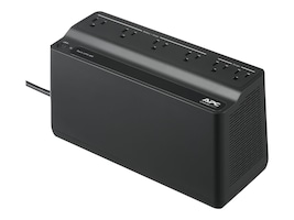 APC Back-UPS 450VA 255W 120V Tower Standby UPS (6) Outlets 180 Joules, Black, BN450M, 33899606, Battery Backup/UPS