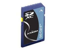 Axiom 64GB SDXC Flash Memory Card, Class 10, SDXC10/64GB-AX, 14315708, Memory - Flash