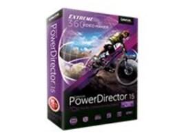 Cyberlink PowerDirector 15.0 Ultimate Suite DVD, PUS-EF00-RPM0-00, 34920219, Software - Video Editing