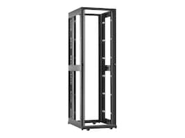 APC NetShelter AV 42U 600mm W x 825mm D Rack Enclosure, 10-32 Threaded Rails, No Sides Roof Doors, Black, AR3812, 12183553, Racks & Cabinets