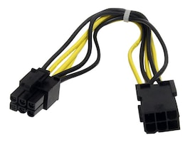 StarTech.com PCIe Computer Power Extension Cable, 8in, PCIEPOWEXT, 12765941, Power Cords