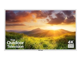 75 Signature Series 4K Ultra HD Partial Sun Outdoor TV, White, SB-S-75-4K-WH, 35399091, Televisions - Commercial