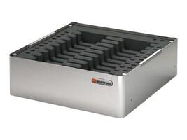 Bretford Manufacturing PowerSync Pro Tray 20 for iPad mini, Platinum, PSPROTRAY20M-PM, 36863799, Charging Stations