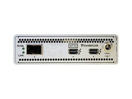 Atto 2PT 20GB TBOLT2 TO 1PT 10GB ETH LC SFP+, TLNS-2101-D00, 21250156, Network Transceivers