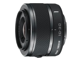 Nikon 1 NIKKOR 10-30mm f 3.5-5.6 VR Lens - Black, 3300, 15595001, Camera & Camcorder Lenses & Filters