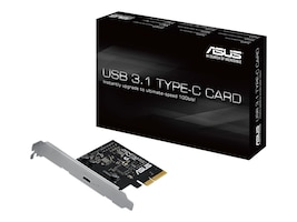 Asus USB 3.1 Type-C Expansion PCIe Card, USB 3.1 TYPE-C CARD, 20396049, Motherboard Expansion